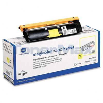 QMS MAGICOLOR 2400 TONER YELLOW HY